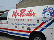 Roto Rooter Auto Graphic